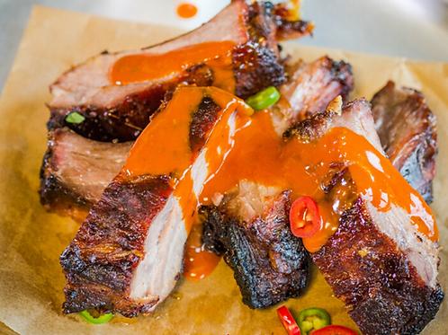 Boneless Pork Belly King Ribs Kentucky Bourbon
