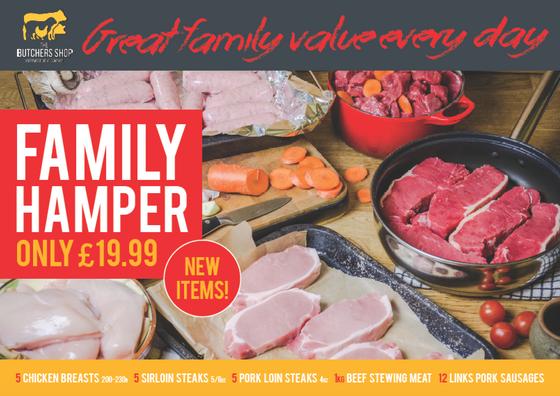 NEW! Family hamper relaunch