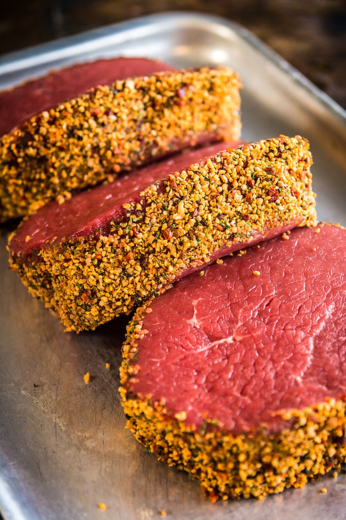 Peppered Thick Cut Beef Steak