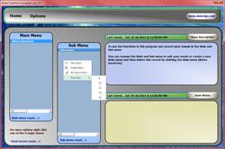 Excel Notes Form Sub Menu