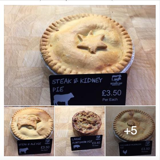 British Pie Week at The Butcher's Shops