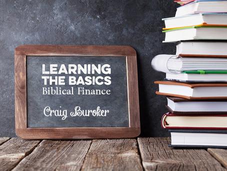 Learning the Basics: Biblical Finance