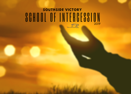 Southside Victory School of Intercession 2019 - Dropcard