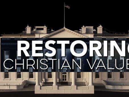 Restoring Christian Values