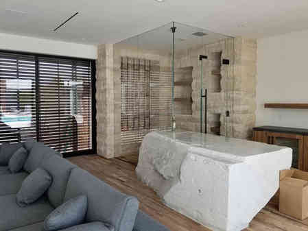 large custom shower install las vegas.JP