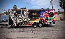 large trailer custom wrap full throttle
