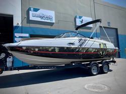 custom vegas golden knights boat wrap