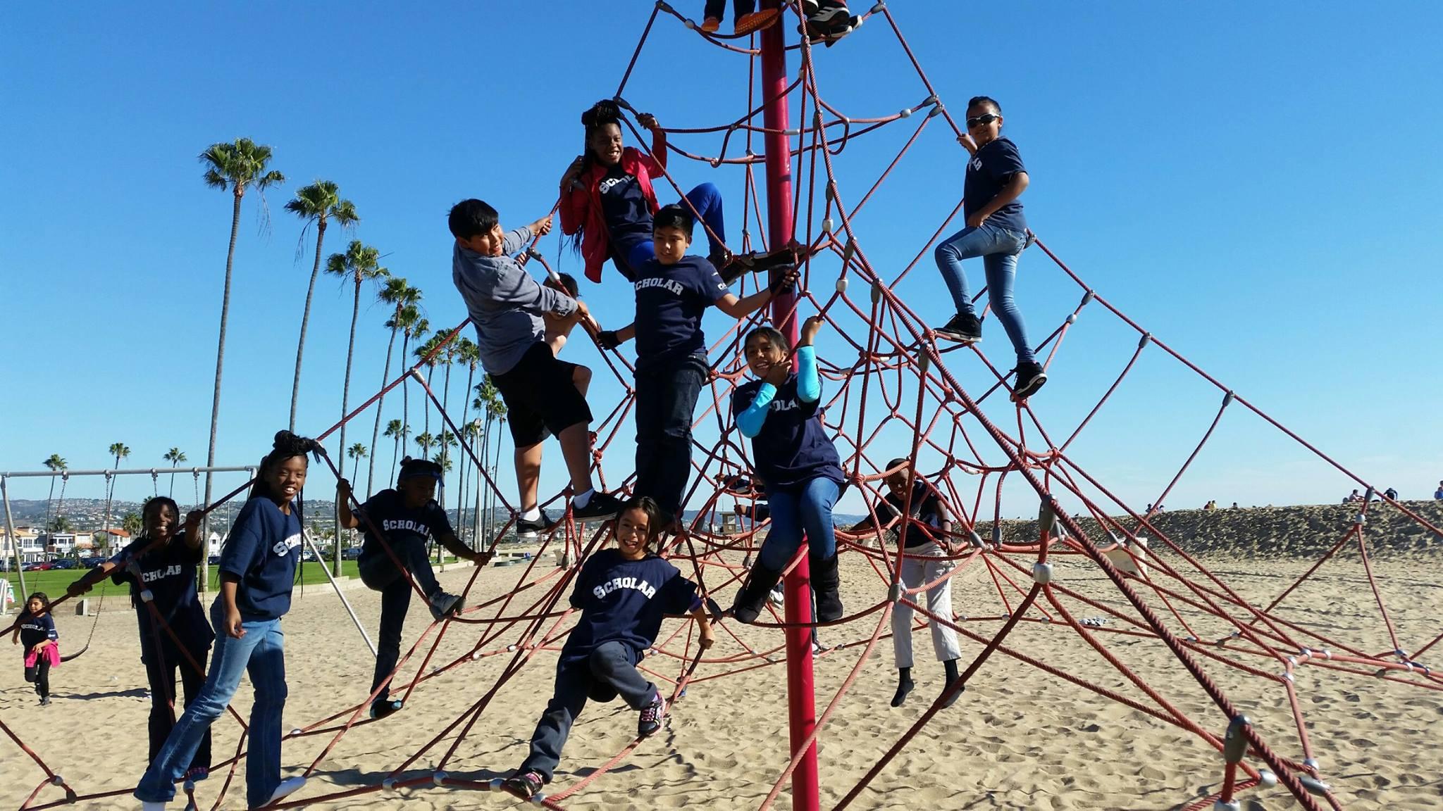 climbing the ropes