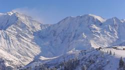 neige mont blanc