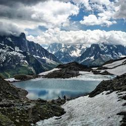 paysage mont blanc