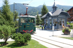gare du tramway du Mont Blanc