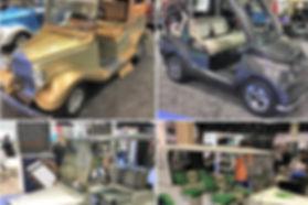 Streetrod Golf Cars - Vintage - LUX - Forbes - golf car - custom golf cart - PGA Show