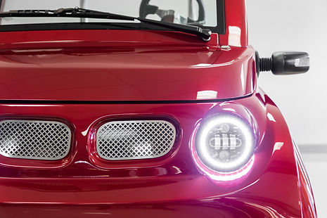LUX by Streetrod Golf Cars - Luxury Golf Cart - Private Clubs Magazine - Club Corps