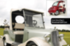 LUX and Vintage by Streetrod Golf Cars - Luxury Golf Cart - Golf Car Options Magazine