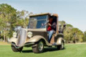 Streetrod Golf Cars - Vintage - Success Series - Golf Cart - Golf Course - Luxury - Country Club