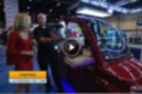 Streetrod Golf Cars - LUX - The Golf Channel - PGA Show - Customizable Golf Cart - Custom Golf Cart