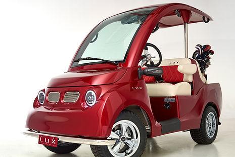 LUX by Streetrod Golf Cars - Luxury Golf Cart - Golf Digest - Editor's Choice - Best Club Transport: Luxury
