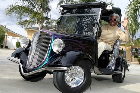 Streetrod Golf Cars - Custom Golf Carts - Why buy a golf cart - Vintage - The Villages Florida FL - Convertible - Retirement Community