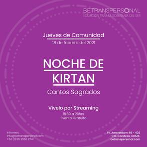 Noche de Kirtan