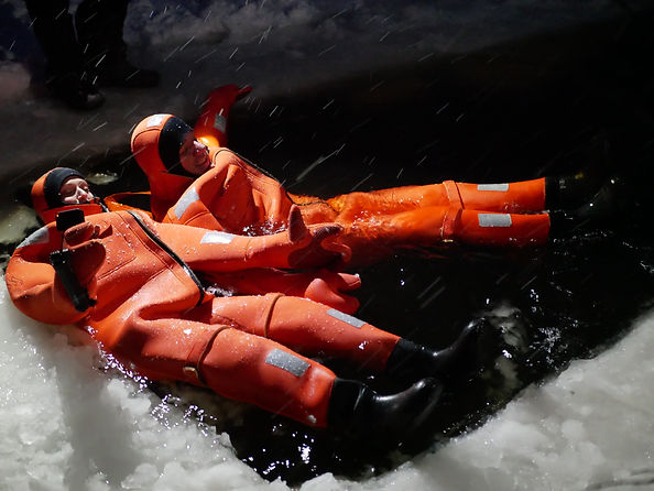 Überleben im kalten Wasser!