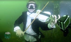 Mein bester Feind - Geige spielen unter Wasser
