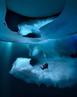 Eisformationen auf Grönland