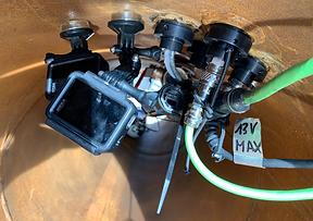 Wasserdichte Technik auf kleinstem Raum