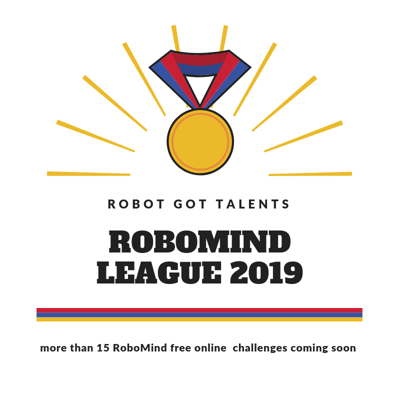 RoboMind League Logo