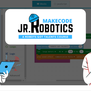 JR ROBOTICS MAKECODE COURSES