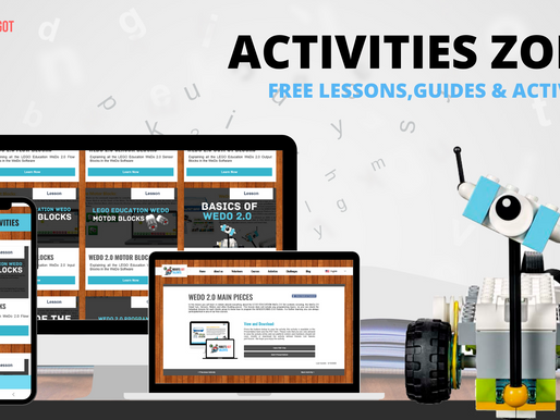 WEDO 2.0 NEW LESSONS & GUIDES