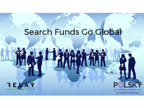 PODCAST: Search Funds Go Global…