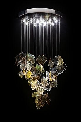 Crystal chandelier Autumn romance L 008/30/09