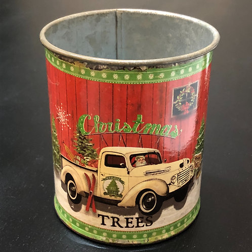 Christmas Truck Can