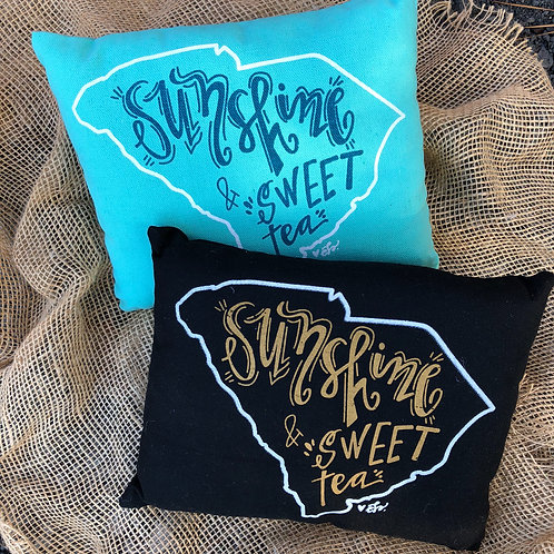 SC Sunshine and Sweet Tea Pillows