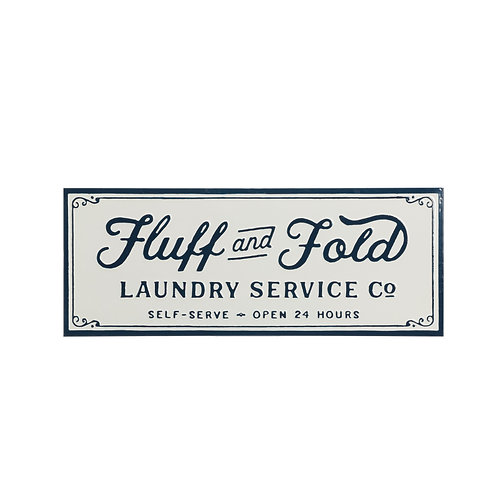 Fluff n Fold Sign