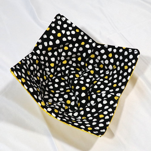 Bowl Coozie - Black & Yellow
