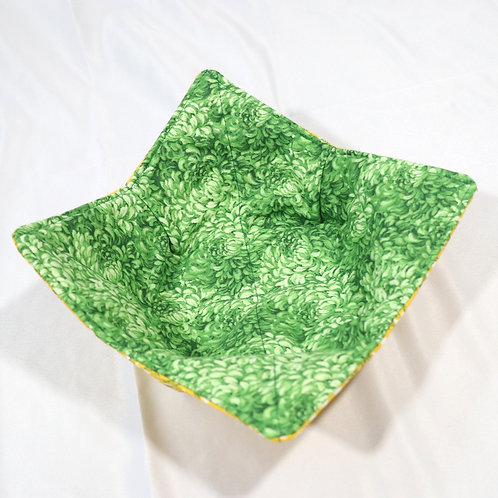 Bowl Coozie - Green & Yellow
