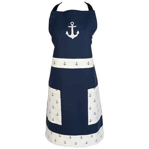 Anchor Apron - Navy