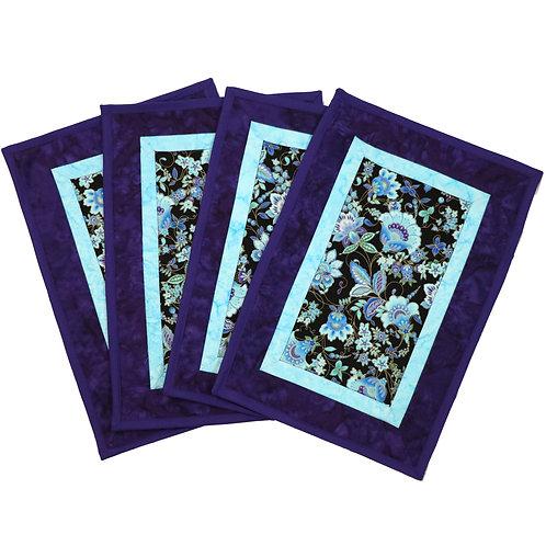Placemat - Purple Flowers