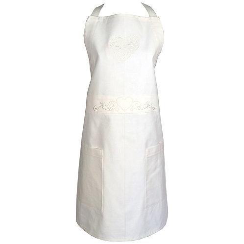Bride Apron - White