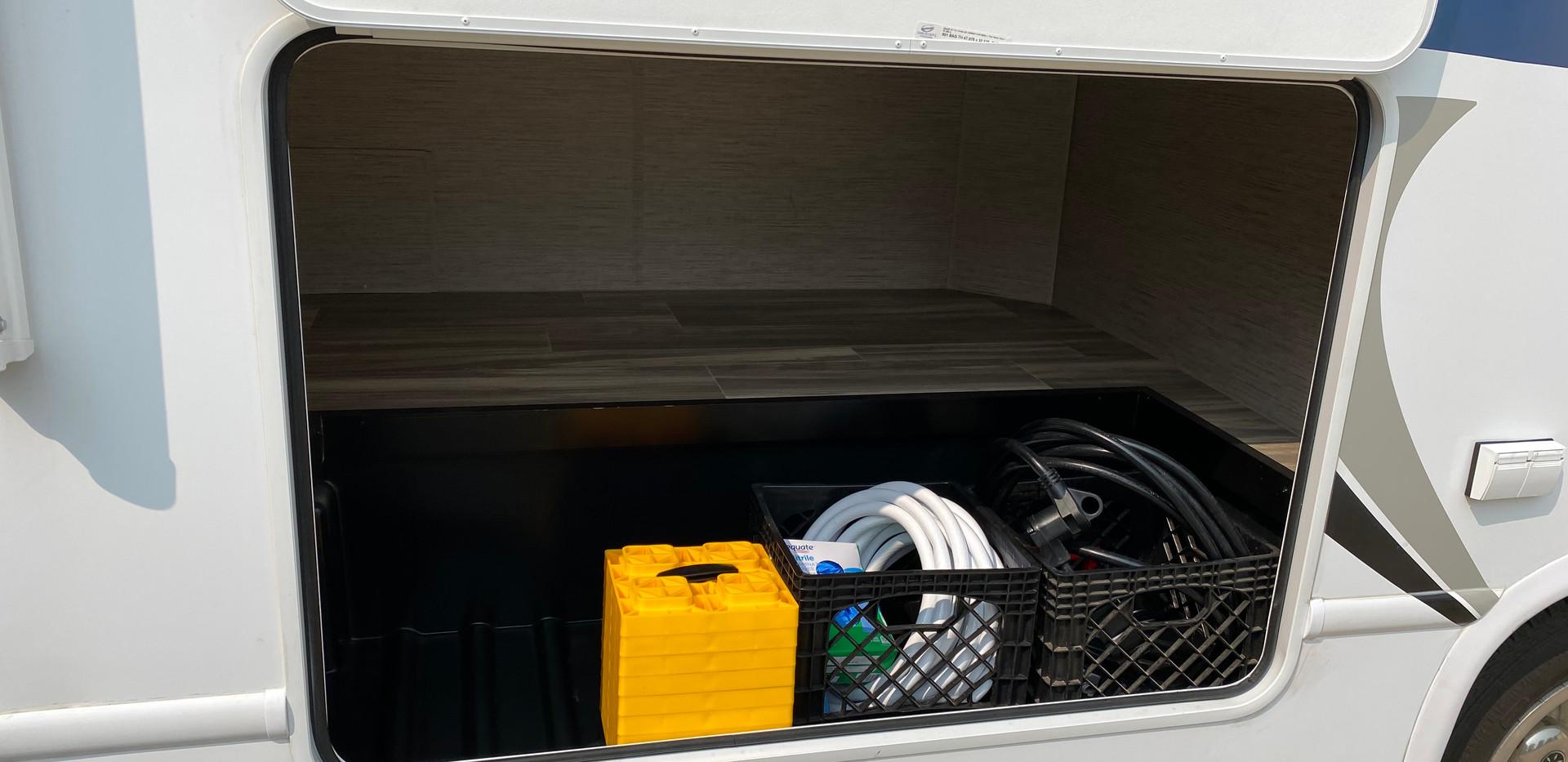 Exterior Storage Compartment