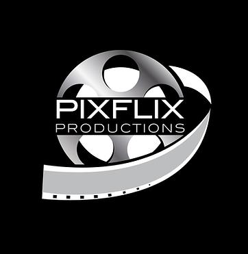Pixflix Productions_logo_reverse_black b