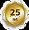 logo 25 let