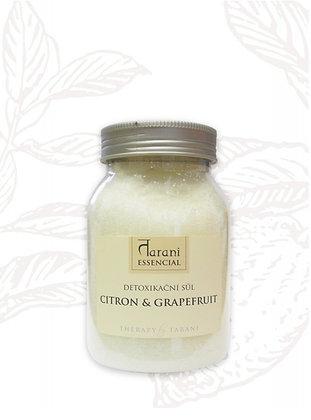 DETOXIKAČNÍ SŮL - CITRON GRAPEFRUIT - 500 g