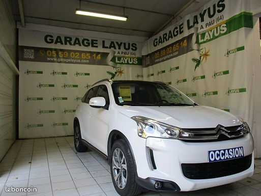 Citroën C4 Aircross 1.8 HDI 4X2 EXCLUSIVE