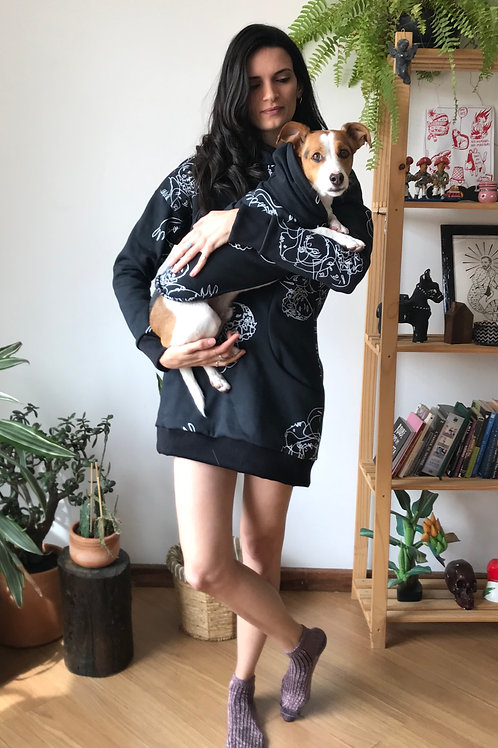 MOLETONTIS ESTAMPA EGUEIRAS + ROUPITCHA DOG