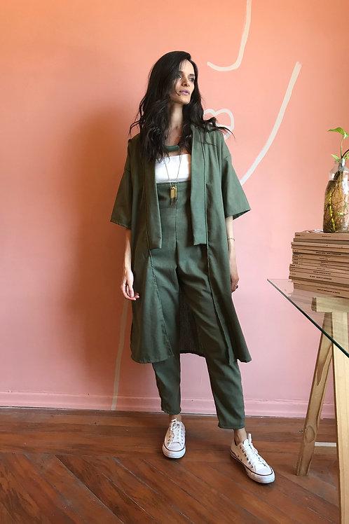 Kimono Arrasex Verde Linho