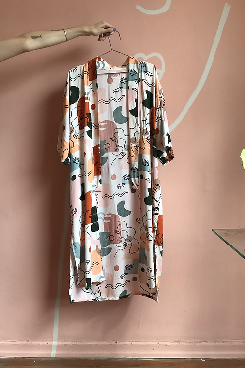 Kimono Arrasex Estampado Colorex