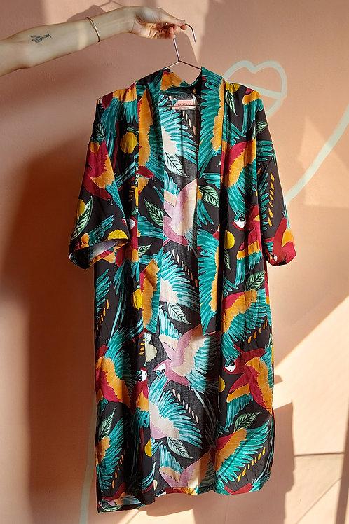Kimono Arrasex Estampado Arararex