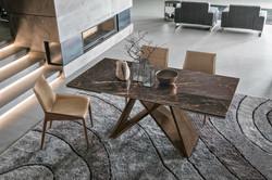 Keramický mramorový stůl